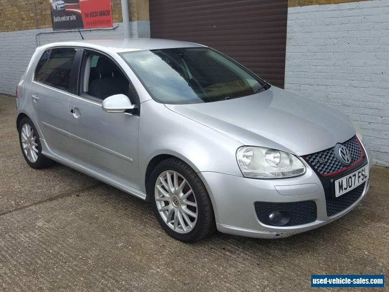2007 Volkswagen Golf Gt Tdi 140 For Sale In The United Kingdom