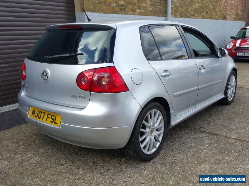 2007 volkswagen golf gt tdi 140 for sale in the united kingdom. Black Bedroom Furniture Sets. Home Design Ideas