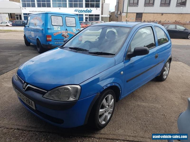 2001 vauxhall corsa club 12v for sale in the united kingdom. Black Bedroom Furniture Sets. Home Design Ideas