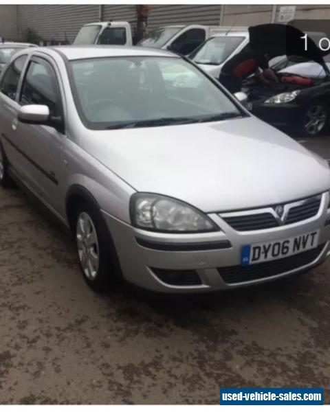 2006 Vauxhall CORSA SXI For Sale In The United Kingdom