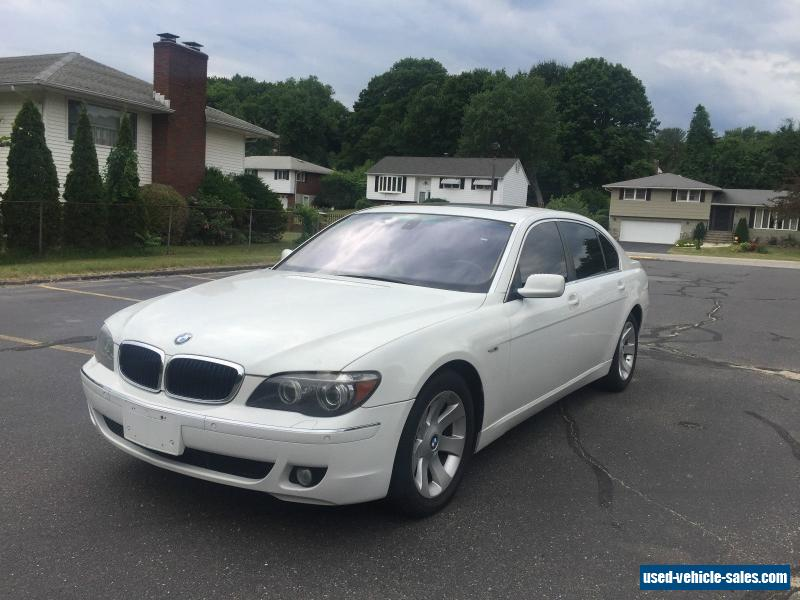 2007 bmw 7 series for sale in the united states. Black Bedroom Furniture Sets. Home Design Ideas