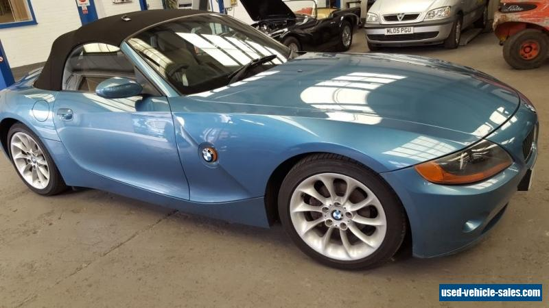 2005 bmw z4 2 2i se auto for sale in the united kingdom. Black Bedroom Furniture Sets. Home Design Ideas