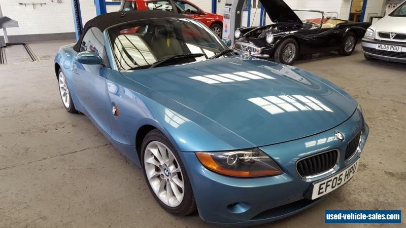 2005 Bmw Z4 2 2i Se Auto For Sale In The United Kingdom