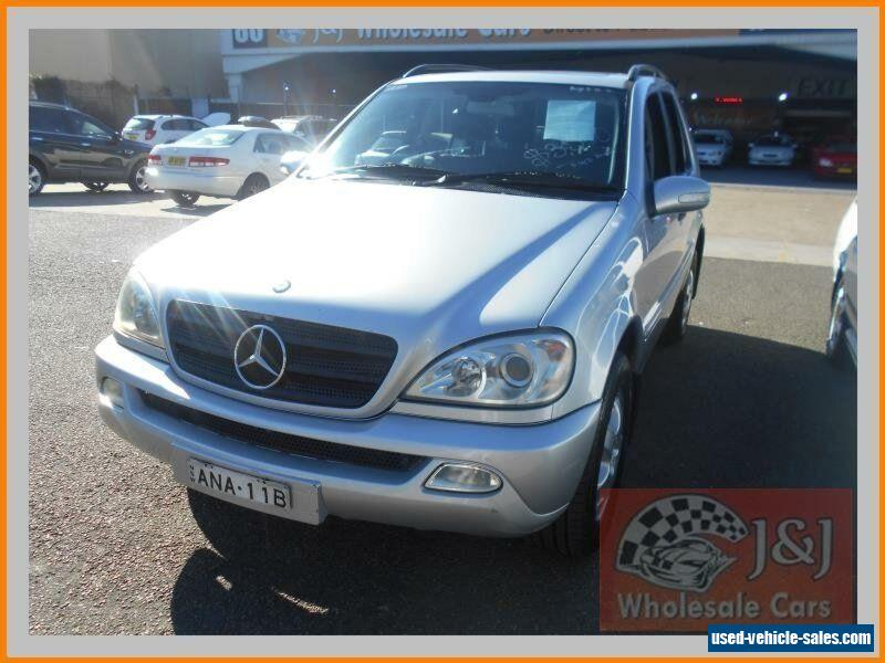 Mercedes Benz Ml For Sale In Australia