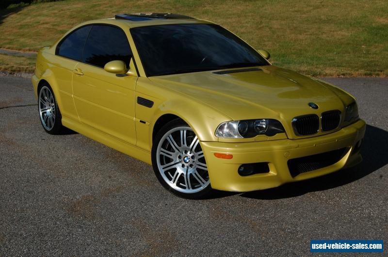Used Cars Phoenix >> 2002 Bmw M3 for Sale in the United States
