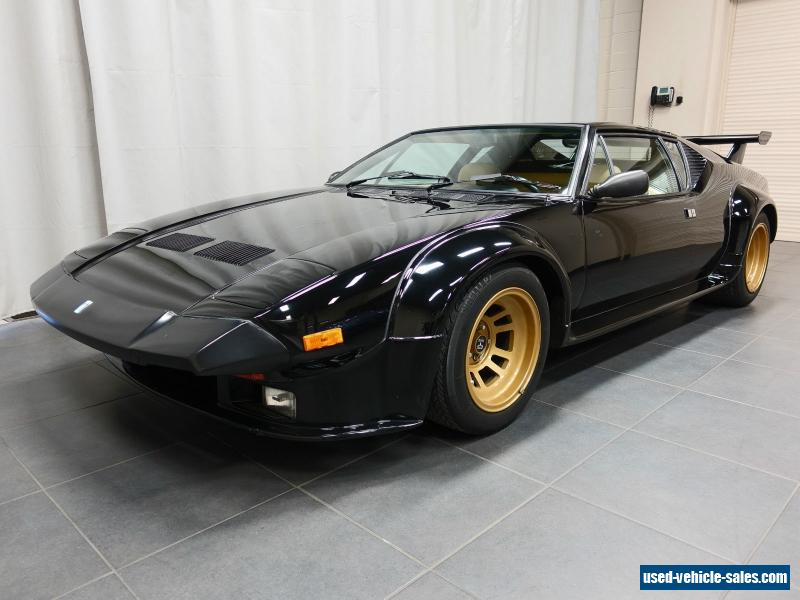 1985 de tomaso pantera gt5 for sale in canada. Black Bedroom Furniture Sets. Home Design Ideas
