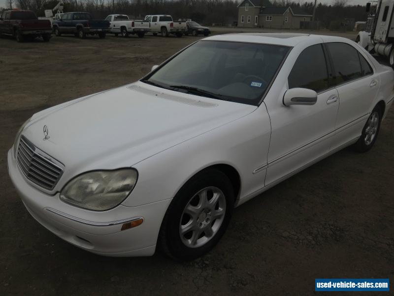 2000 mercedes benz s class for sale in the united states for Mercedes benz s class used for sale