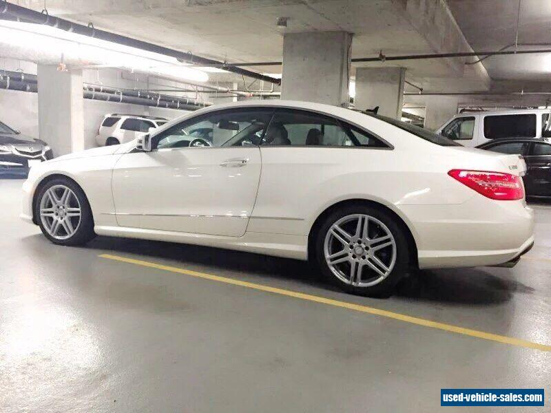 2010 mercedes benz e class for sale in canada. Black Bedroom Furniture Sets. Home Design Ideas