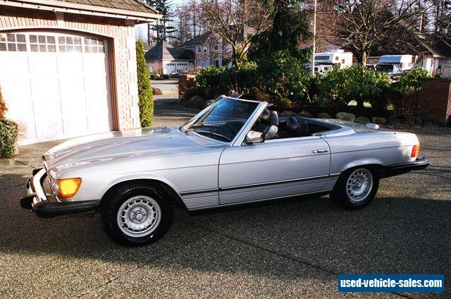 1976 mercedes benz sl class for sale in canada for 1976 mercedes benz for sale