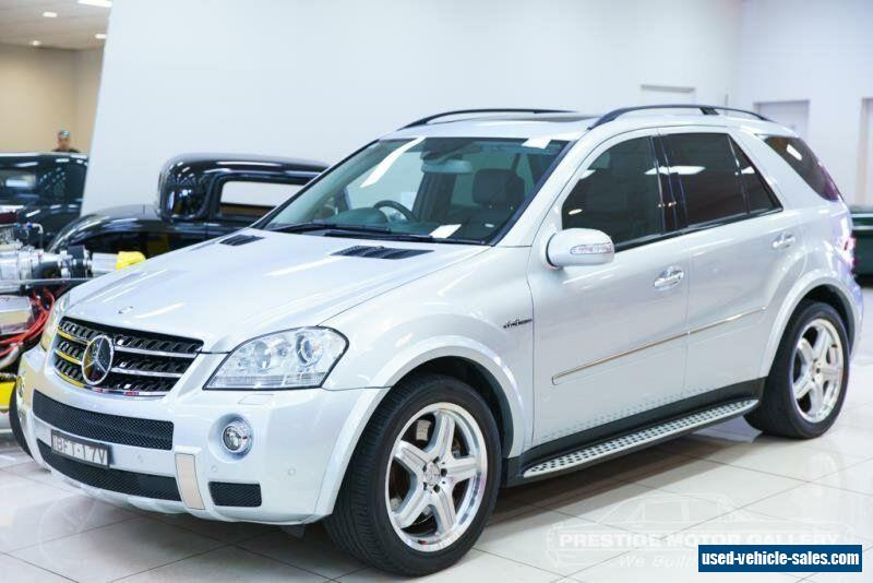 Mercedes benz ml for sale in australia for Mercedes benz 2008 for sale