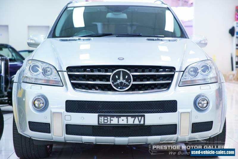 Mercedes benz ml for sale in australia for Mercedes benz ml 2008 for sale