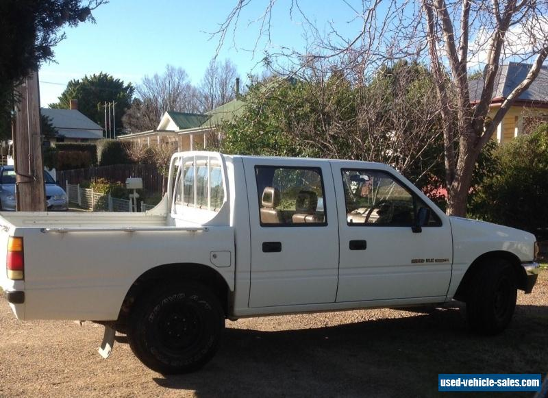 Holden Rodeo 1990 dual cab ute 5 speed manual 2WD