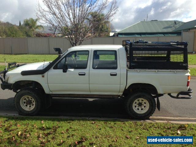 toyota hilux ln106 1995 4x4 for sale in australia. Black Bedroom Furniture Sets. Home Design Ideas