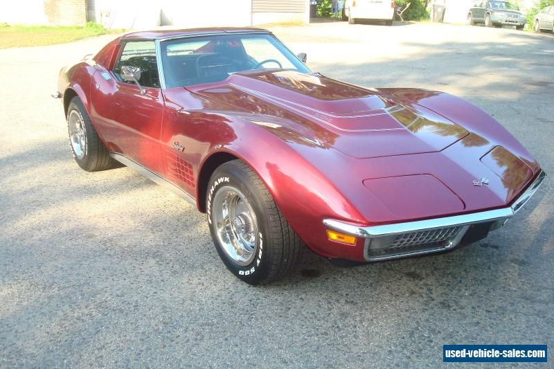 1970 chevrolet corvette for sale in the united states. Cars Review. Best American Auto & Cars Review