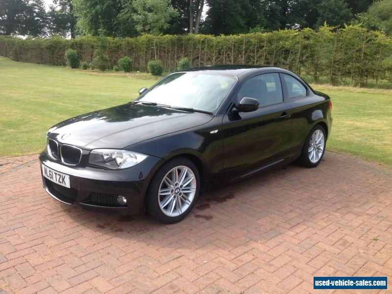 2011 bmw 118d m sport for sale in the united kingdom. Black Bedroom Furniture Sets. Home Design Ideas