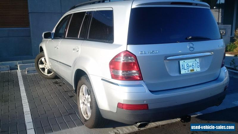 2007 mercedes benz gl class for sale in canada