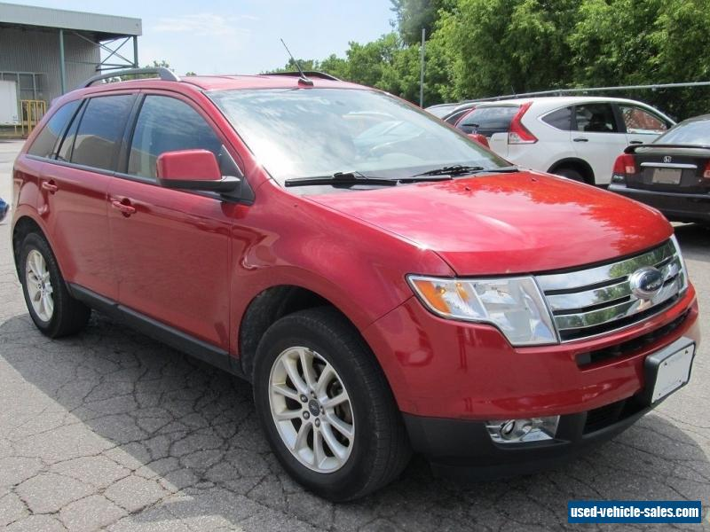 2010 ford edge for sale in canada for Ford edge motor oil type
