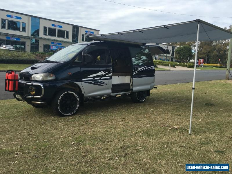 mitsubishi delica 1997 camper 4x4 auto turbo diesel for sale in australia. Black Bedroom Furniture Sets. Home Design Ideas