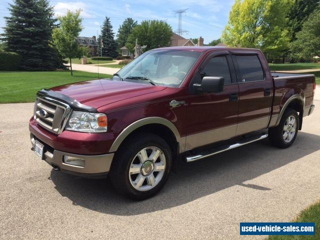 2004 ford f 150 for sale in the united states. Black Bedroom Furniture Sets. Home Design Ideas