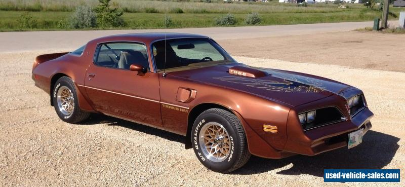 1978 pontiac trans am for sale in canada. Black Bedroom Furniture Sets. Home Design Ideas