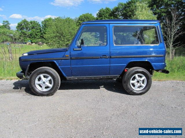 1983 mercedes benz g class for sale in canada for Mercedes benz g class sale
