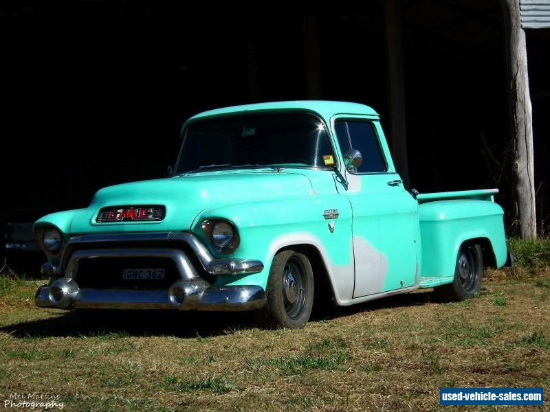 1956 GMC Pickup 6.0l turbo 350 camaro chev chevy chevrolet hotrod ...