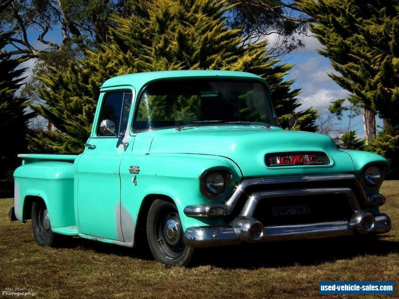 1956 gmc pickup turbo 350 camaro chev chevy chevrolet hotrod ratrod hot rod for sale in. Black Bedroom Furniture Sets. Home Design Ideas