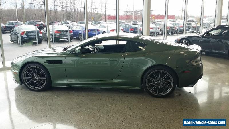 2010 aston martin dbs for sale in canada. Black Bedroom Furniture Sets. Home Design Ideas