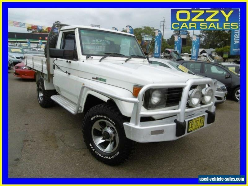 Toyota landcruiser hzj manual 1996 toyota landcruiser hzj75rp 4x4 white manual 5sp m cab chassis for sale fandeluxe Gallery