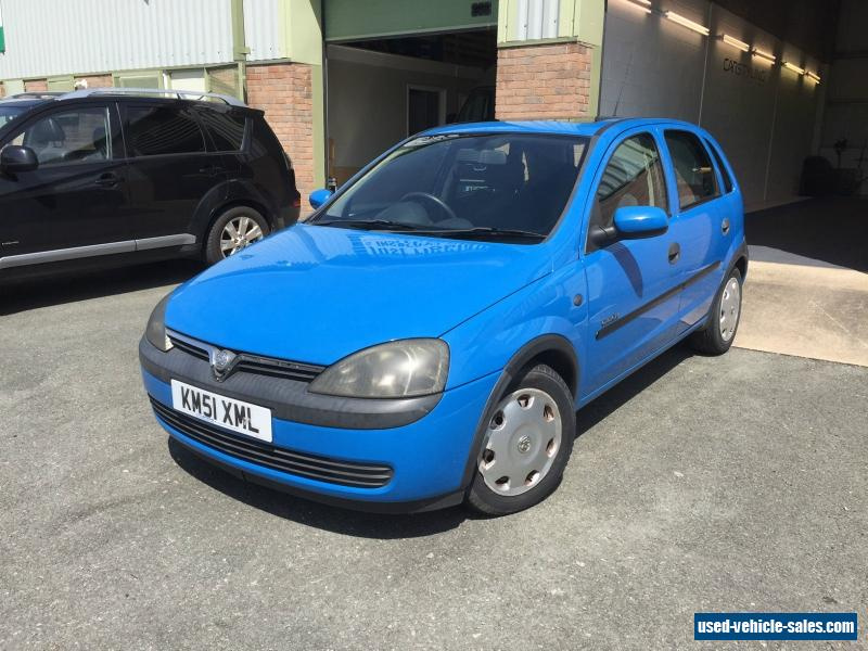 2001 vauxhall corsa comfort 16v for sale in the united kingdom. Black Bedroom Furniture Sets. Home Design Ideas