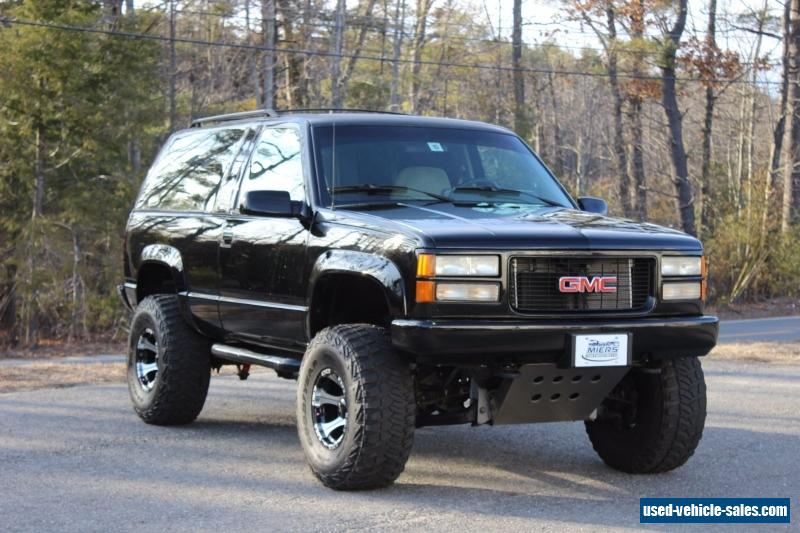 1994 gmc yukon for sale in the united states. Black Bedroom Furniture Sets. Home Design Ideas