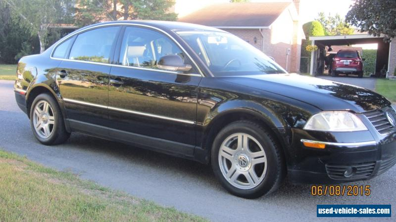 2005 volkswagen passat for sale in canada. Black Bedroom Furniture Sets. Home Design Ideas