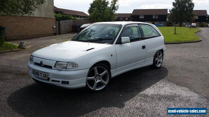 1993 vauxhall astra gsi 16v for sale in the united kingdom Old Vauxhall Astra Vauxhall Astra Trunk Space
