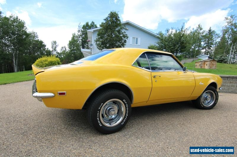 1968 Chevrolet Camaro For Sale In Canada