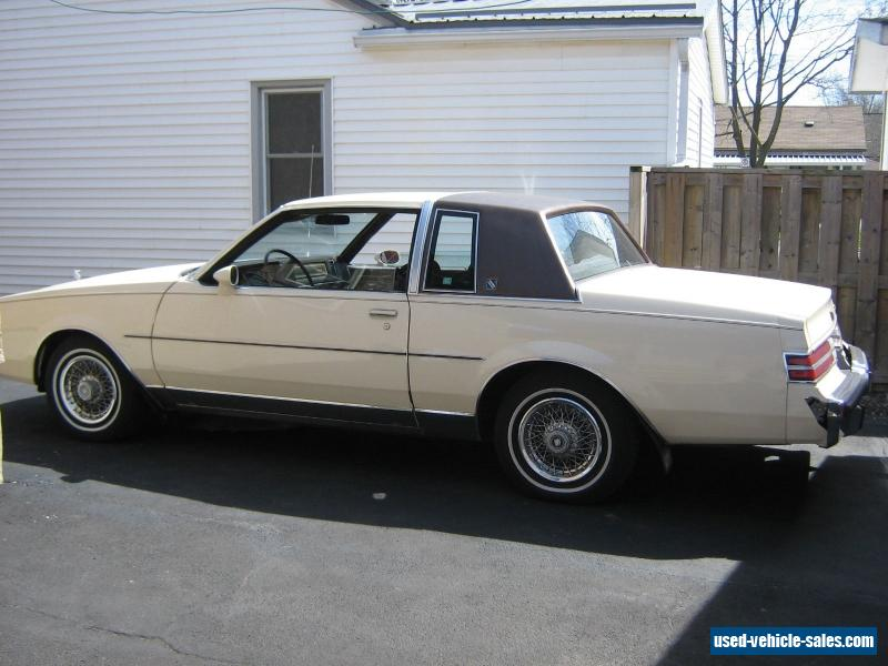 1984 buick regal for sale in canada. Black Bedroom Furniture Sets. Home Design Ideas