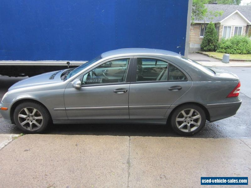 2005 mercedes benz c class for sale in canada for Mercedes benz c class 240