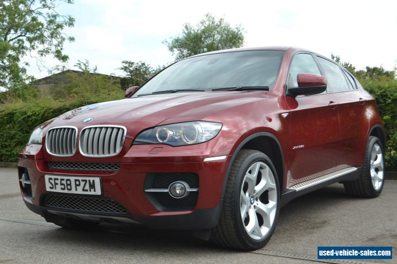 2008 Bmw X6 For Sale In The United Kingdom