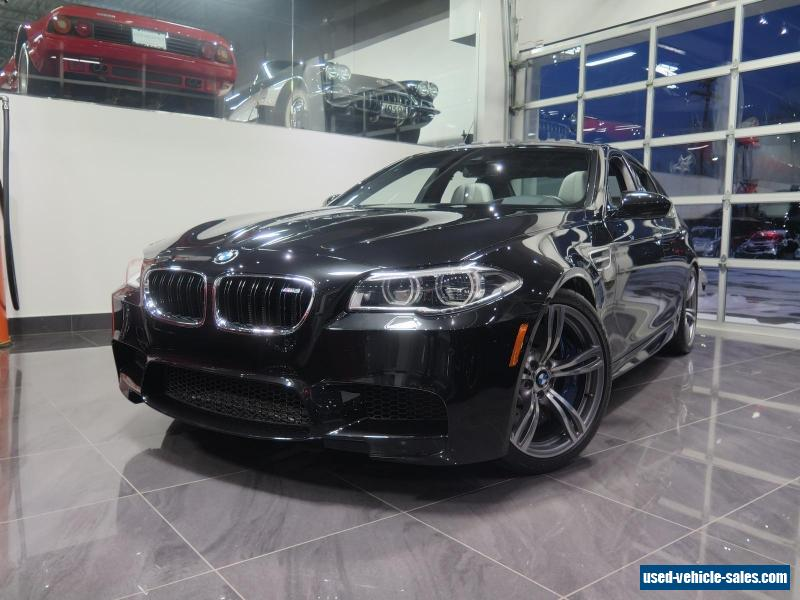 2014 bmw m5 for sale in canada. Black Bedroom Furniture Sets. Home Design Ideas