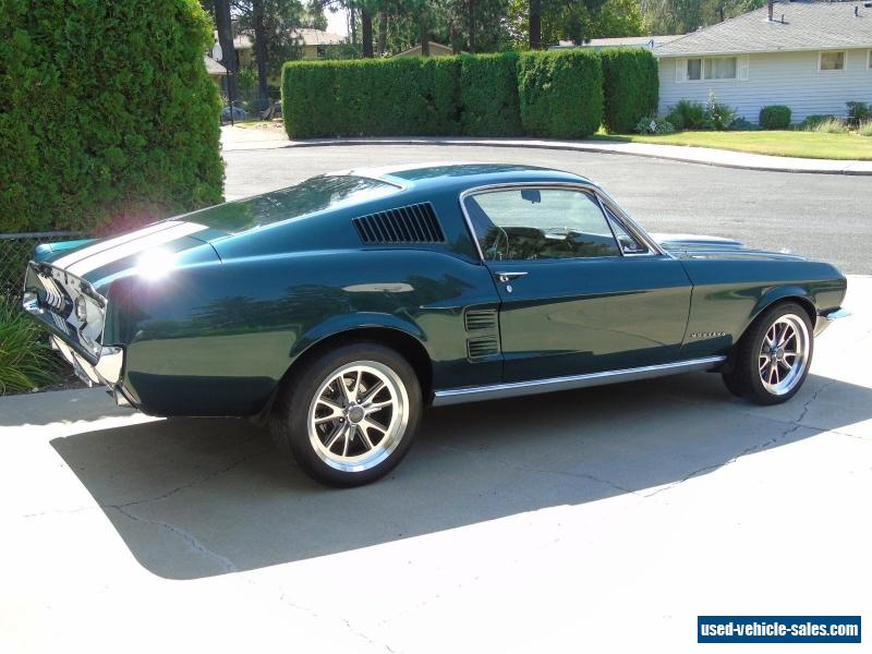 1967 ford mustang for sale in the united states. Black Bedroom Furniture Sets. Home Design Ideas