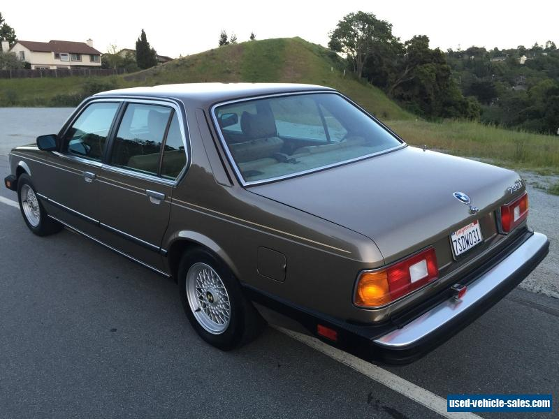 BMW Of Stevens Creek >> 1984 Bmw 7-Series for Sale in the United States
