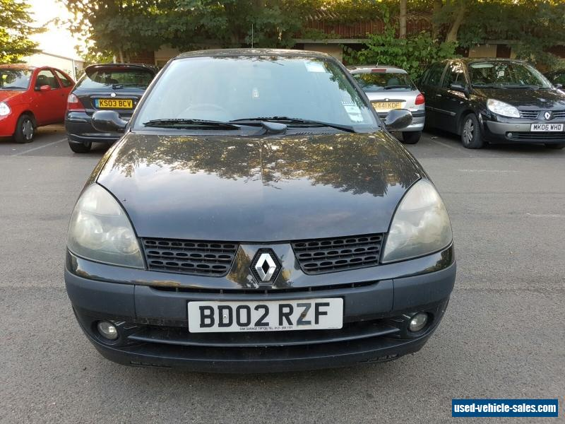 2002 renault clio sport for sale in the united kingdom