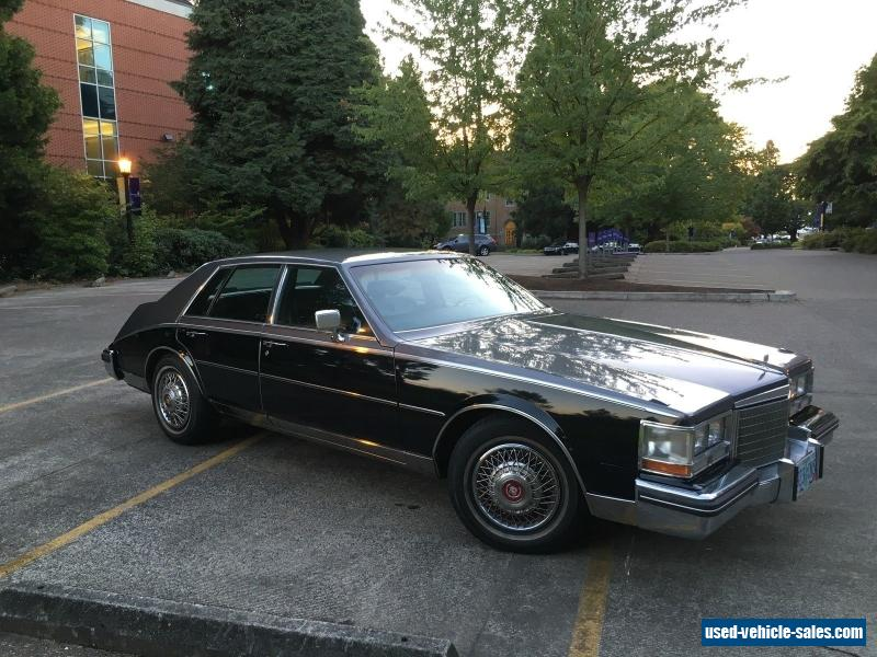 1984 Cadillac Seville for Sale in the United States