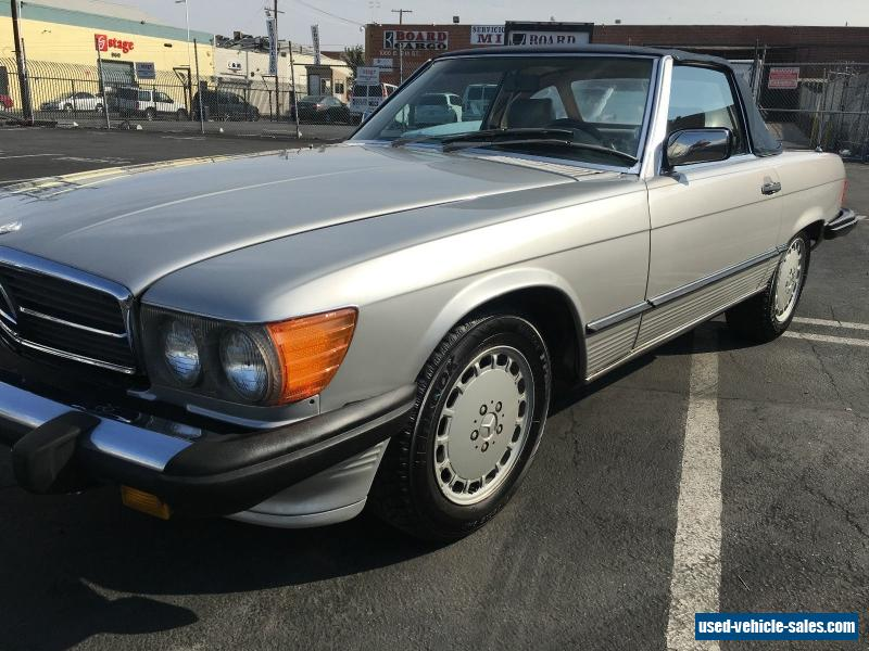 1986 mercedes benz sl class for sale in the united states for Mercedes benz sl550 for sale