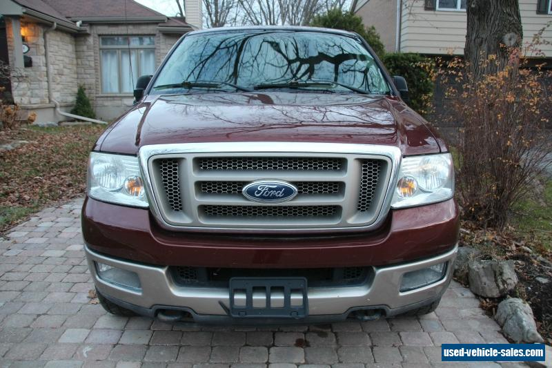 2005 ford f 150 for sale in canada. Black Bedroom Furniture Sets. Home Design Ideas