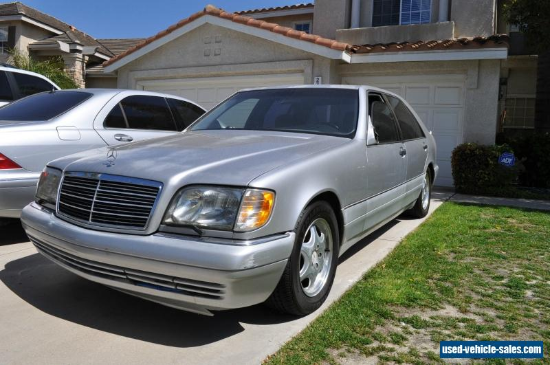 1999 mercedes benz s class for sale in the united states for Used mercedes benz a class for sale
