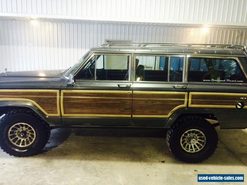 Jeep Wagoneer For Sale >> 1989 Jeep Wagoneer