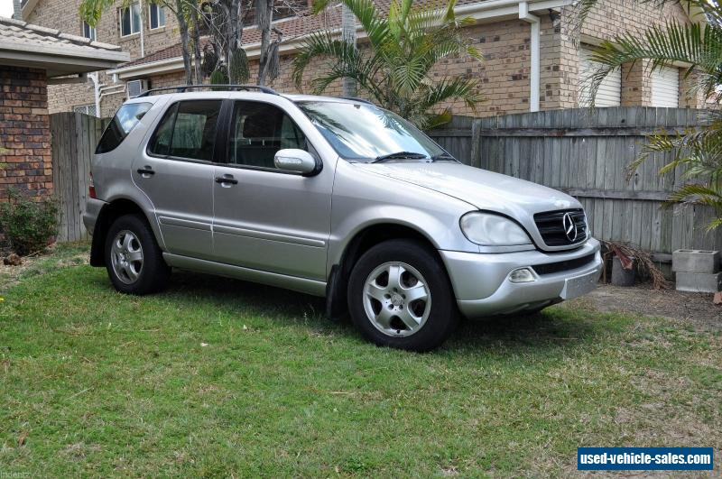 2003 mercedes benz ml 270 cdi 7 seater wagon for sale in australia. Black Bedroom Furniture Sets. Home Design Ideas