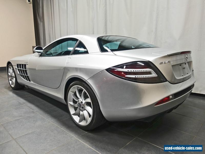 2005 mercedes benz slr mclaren for sale in canada for Mercedes benz for sale in canada