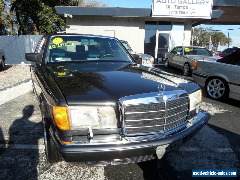 1989 mercedes benz 400 series for sale in the united states for Mercedes benz 1989 for sale