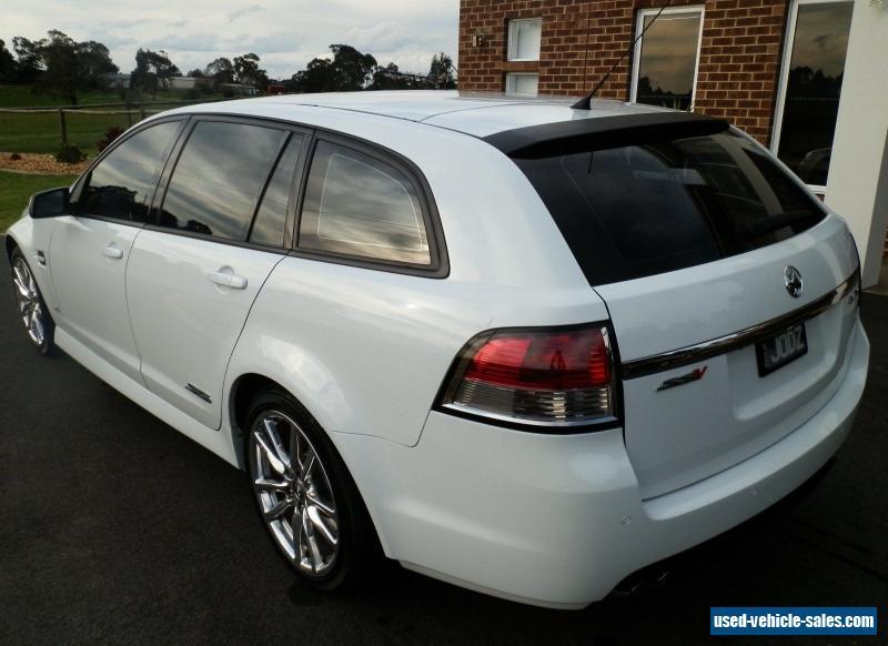 2012 Holden Commodore VE Series II SSV Auto Redline Sportwagon Wagon ...